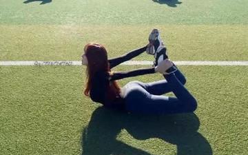 南韩模特 健身教练