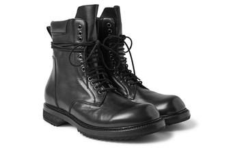 rick owens 推出搭载超长鞋带和锯齿鞋底的全新皮靴.图片