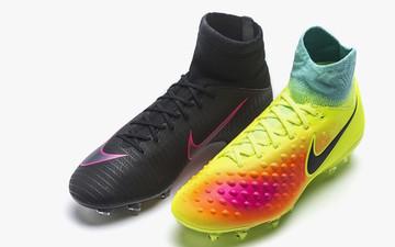 耐克童款Superfly V和Magista Obra II足球鞋发布