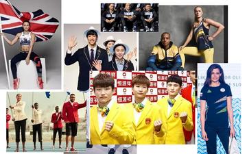奥运倒计时   那些走心or放肆的奥运队服