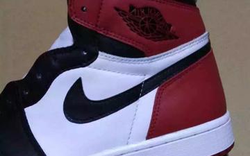 黑脚趾!Air Jordan 1 Retro High OG Black Toe新图曝光