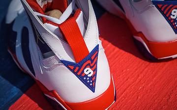 "Air Jordan 7 ""Olympic Alternate""发售日期进一步确定"