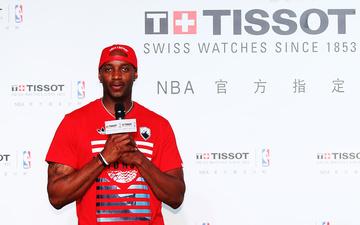 麦迪再次现身上海,顺便推出了Tissot的NBA限量版腕表