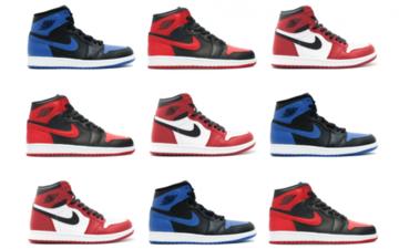 "Air Jordan 1 ""What the""将叫做""Top Three""!三大配色结合将诞生什么?"