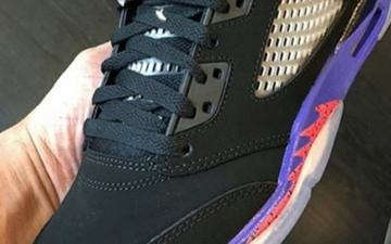 """多伦多猛龙配色,Air Jordan 5 GS """"Raptors""""将发售"""