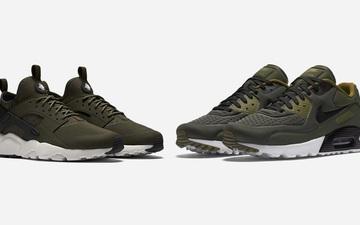 """秋日主打色——""""Cargo Khaki"""" 将呈现于两款NIKE经典鞋款"""
