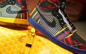 乔丹品牌送给Craig Sager的礼物:特别的Air Jordan 1 PE