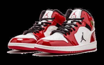 没有Swoosh的漆皮Air Jordan 1未市售样品曝光!