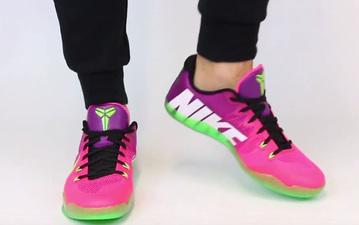 又一双骚气 Nike Kobe 11 EM Mambacuria