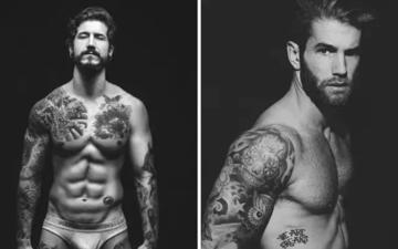 肌肉陪纹身,还有比这个更man的吗?