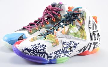 "拼凑系颜值巅峰之作——Nike Lebron XI ""What the Lebron"""
