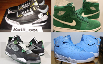 来看看eBay上20双Air Jordan样品鞋报价吧!