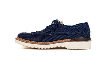 visvim也爱上编织?发布全新鞋款 PATRICIAN RAFFIA-FOLK