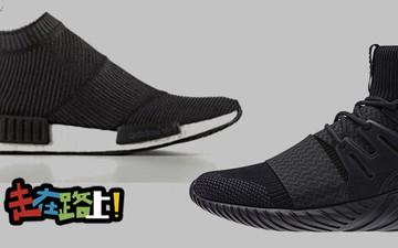 """这两款""""黑漆漆""""的Adidas人气鞋履将在同一天发售!"""