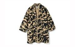 A BATHING APE 推出全新 1st Camo Kimono 衬衫