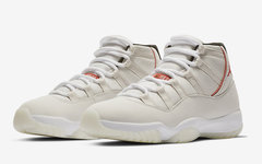 "本月來襲!全新 Air Jordan 11 ""Platinum Tint"" 釋出官圖!"