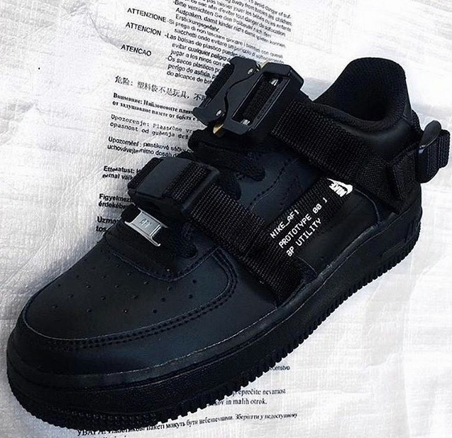"""9876dfc9ca9e9 Nike 全新战术风Air Force 1 """"Be Positive"""" 曝光"""