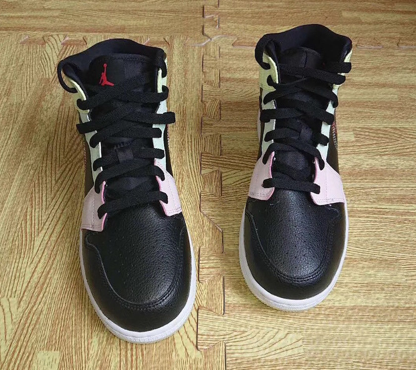 "Air Jordan 1 Mid GS Glow in the Dark AV5174-076发å"":registered:日期"