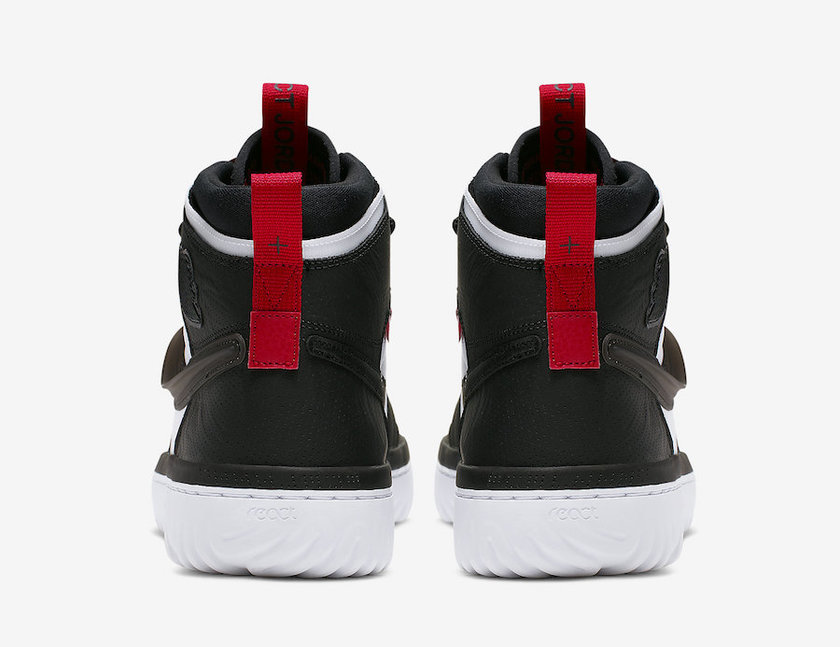 Air Jordan 1 React白色黑色红色AR5321-016发布日期