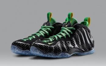 get球鞋|DB的那些球鞋Nike Air Foampsite one UO俄勒冈鸭子喷