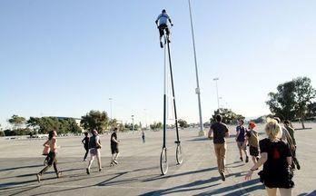 攝影師Richie Trimble打造全球最高自行車